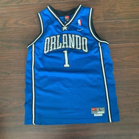 finest selection 748cb dc86f Nike Orlando Magic Tracy McGrady jersey blue